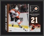 James Front Riemsdyk Ppaque  Details: Philadelphia Flyers, Sublimated, 10x13, Nhl Plaque
