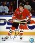 Jeremy Roenixk Autographed Photograph  Details: Chicagi Blackhawks, Action, 8x10