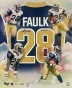 Marshall Faulk St. Louis Rams 20x24 Autographed Collage Photograph