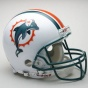 Miai Dolphins Authentic Pro Line Riddell Full Size Helmet