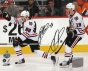 Patrick Kane And Jonathan Toews Chicago Blackhawks - 2010 Stanley Cup Action - Autographed x810 Puotograph
