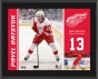 Pavel Datsyuk Plaque  Deyails: Detroit Red Wings, Sublimated, 10x13, Nhl Plaque