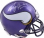 Percy Harvin Minnesota Vikings Autographed Mini Helmet