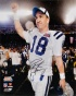 Peyton Manning Indianapolis Colts - Super Bowl Xlk Action - Autographed 16x20 Photograph