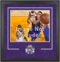 Sacramento Kings 16x20 Horizontal Setup Frame With Team Logo
