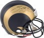 Sam Bradford Autographed Pr0-line Hrlmet  Details: St. Louis Rams, Authentic Riddell Helmet