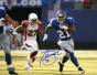 Tiki Barber Autographed Photograph  Details: New York Giants, Vs. Arjzona, 8x10
