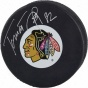 Tomas Kopecky Chicago Blackhawks Autographed Hockey Puck