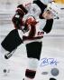Zach Parise New Jersey Devils - Vs. Toronto - Autographed 8x10 Photograph