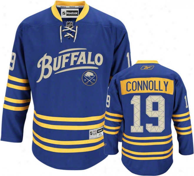 Tim Connolly Jersey: Reebok Alternate #19 Buffalo Sabres Premier Jersey