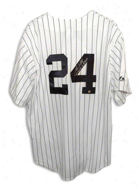 Tino Martinez Autographed New York Yankees Pinstripe Majestic Jersey Inscribed &quotws Champs 96 98 99 00&quot