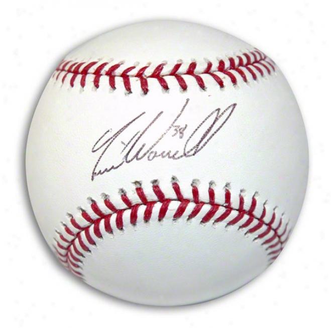 Todd Worrell Autographed Baseball
