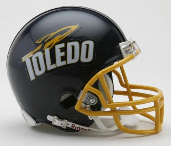 Toledo Rockets Riddell Mini Helmet