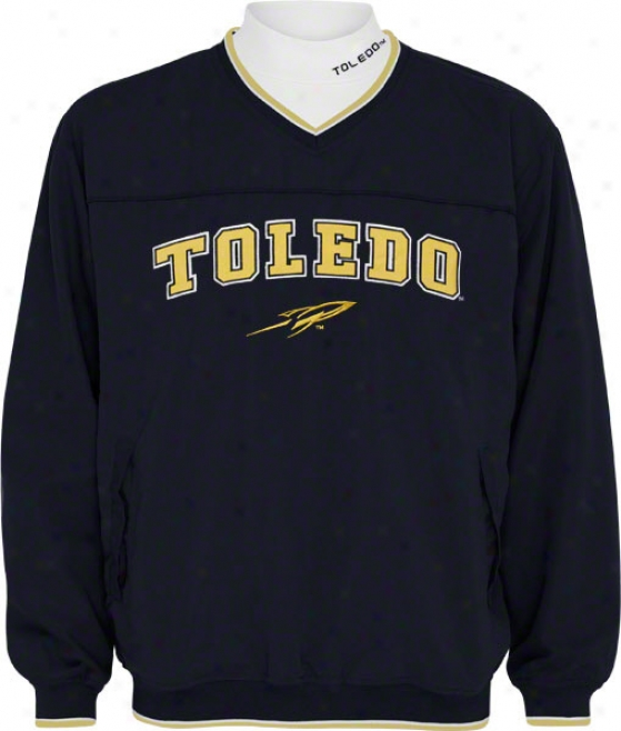 Toledo Rockets Windshirt/long Sleeve Mockneck Combo Pack