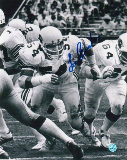 Tom Banks St. Louis Cardinals Autographed 8x10 Photo Bw