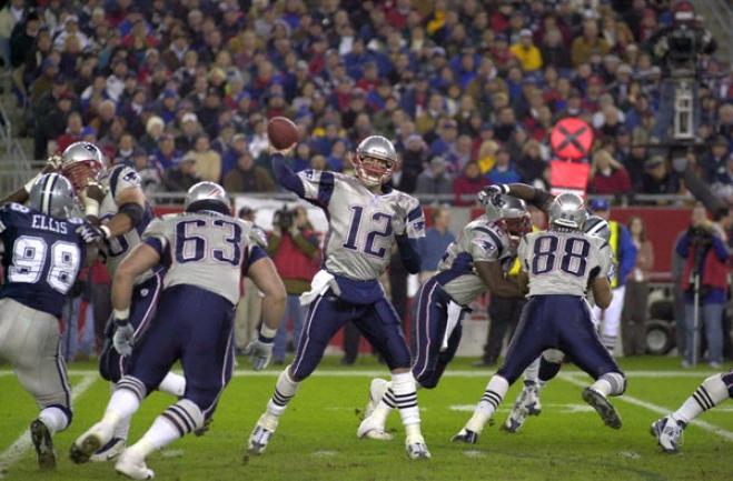 Tom Brady New England Patriots - Standing Tall - 16x20 Portrait