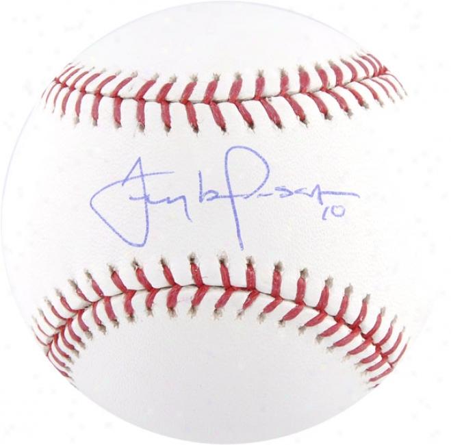 Tony La Russa Autographed Baseball
