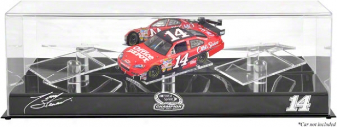 Tony Stewart 1/24th Die Cast 3-car Display Case  Details: 2011 Sprint Cup Series Champion