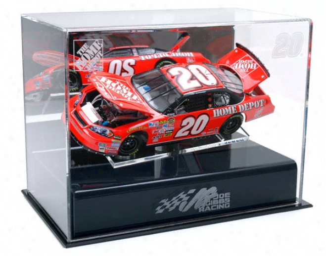 Tony Stewart 1/24th Die Cast Display Case With Platform