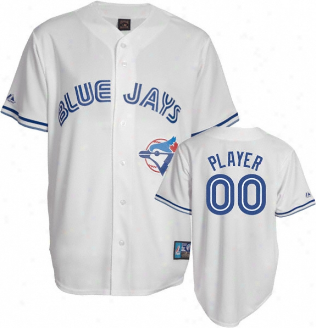 Toronto Blue Jays Cooperstown White -any Player- Replica Jersey
