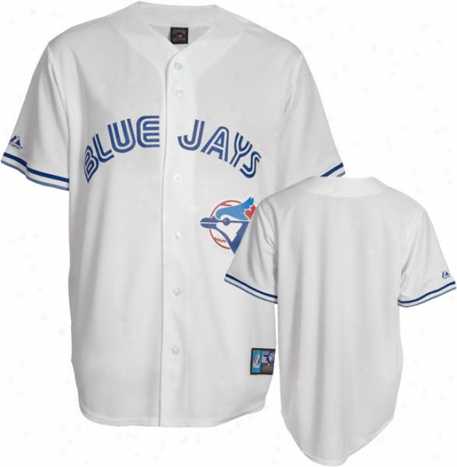 Toronto Blue Jays Cooperstown White Replica Jersey