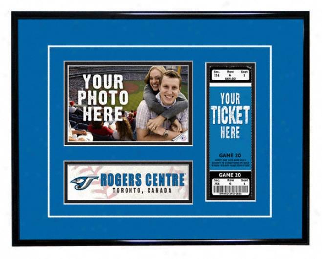 Toronto Blue Jays - Game Day - Ticket Frame