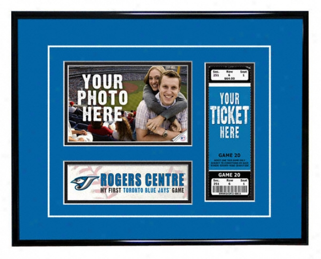 Toronto Blue Jays - My First Game - Ticket Fabricate
