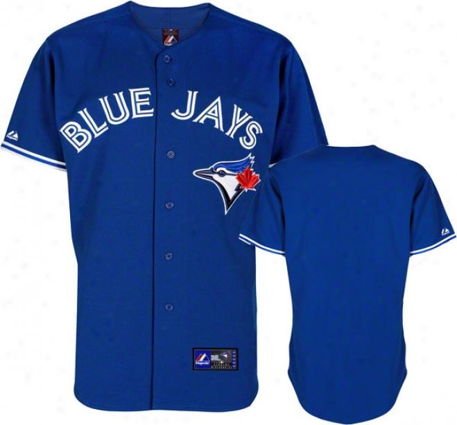 Toronto Blue Jays Royal Alternate Mlb Replica Jersey