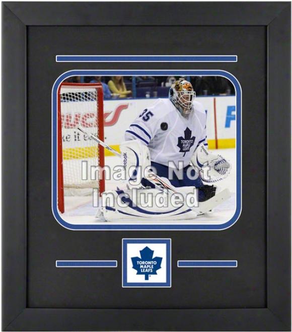 Toronto Maple Leafs 8x10 Horizontal Setup Frame With Team Logo