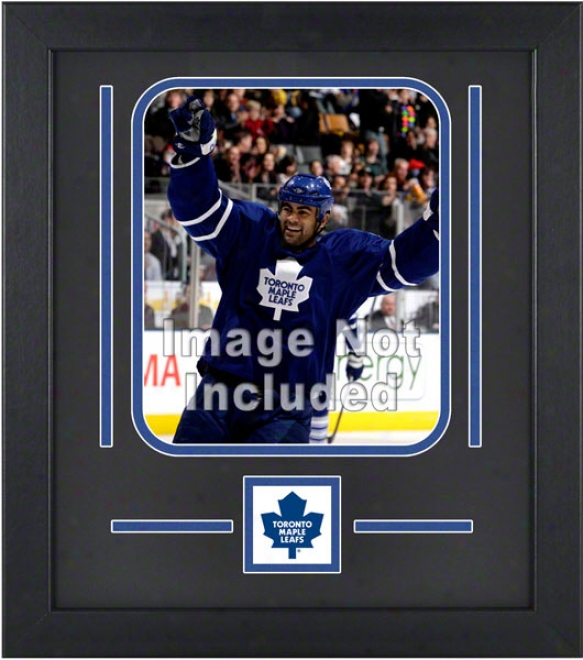 Toronto Maple Leafs 8x10 Vertical Setup Frame With Team Logo