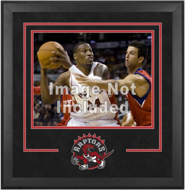 Toronto Raptors 16x20 Horizontal Setup Frame With Team Logo
