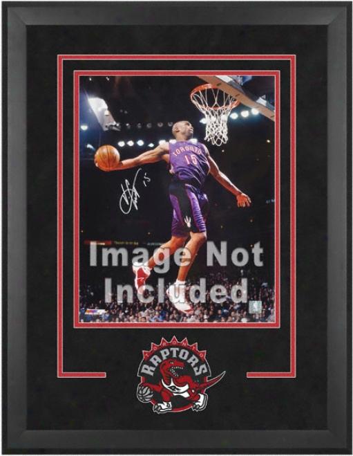 Toronto Raptors 16x20 Vertical Setup Frame With Team Logo