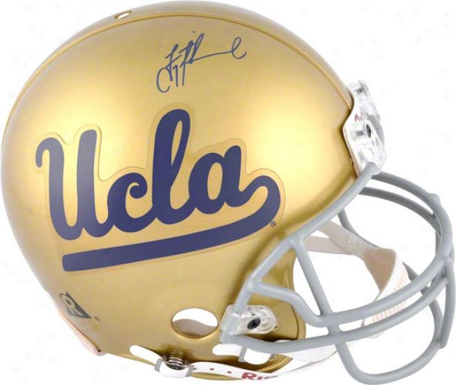 Troy Aikman Autographed Pro-line Helmet  Details: Ucla Bruins, Authentic Riddell Helmet