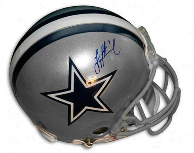 Troy Aikman Dallas Cowboys Autographed Pro-line Helmet