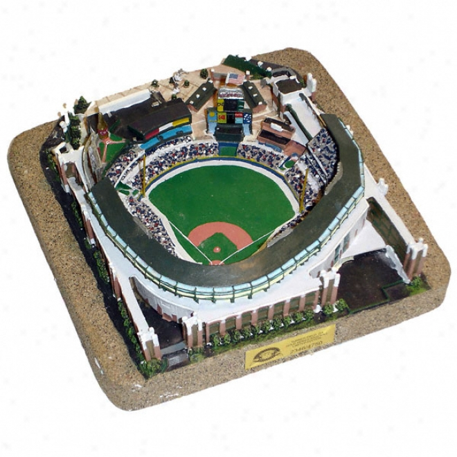 Turner Field Stadium Replica - Gold Series
