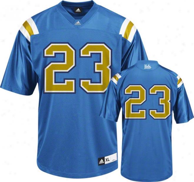 Ucla Bruins Footbball Jersey: Adidas Blue Replica #23 Football Jersey