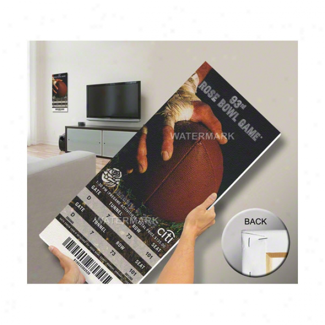 Usc Trojans 2007 Rose Bowl Mega Ticket