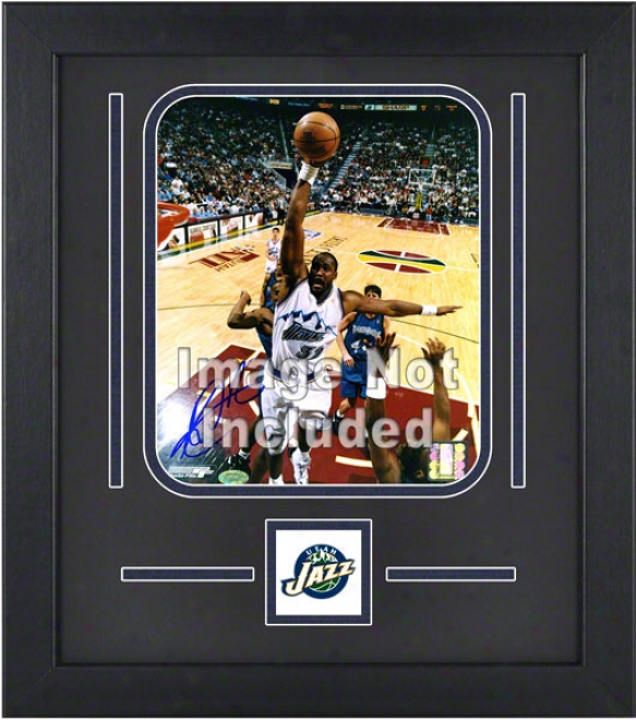 Utah Jazz 8x10 Vertical Setup Frame With Team Logo