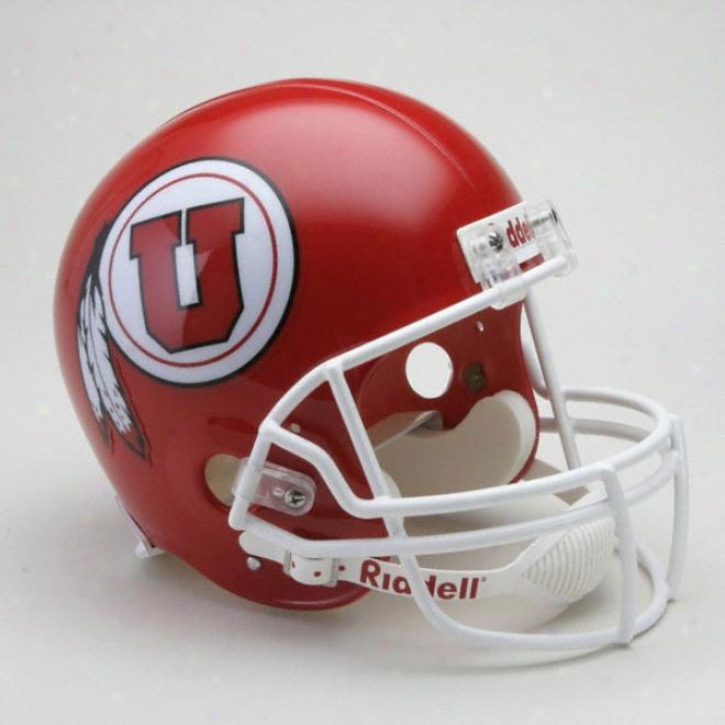 Utah Utes Deluxe Replica Riddell Helmet