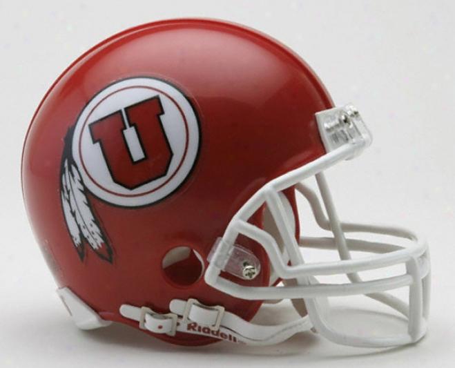 Utah Utes Riddell Mini Helmet