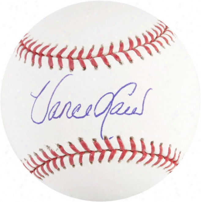 Vance Law Chicago Cubs Autographed Baseball
