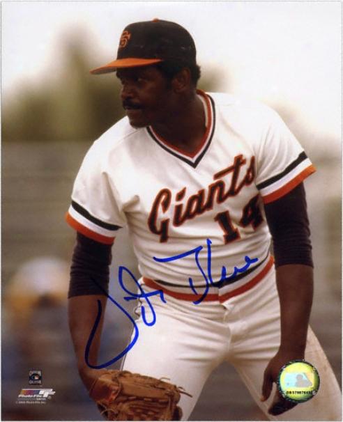 Vida Blue San Francisco Giants Autographed 8x10 Photograph