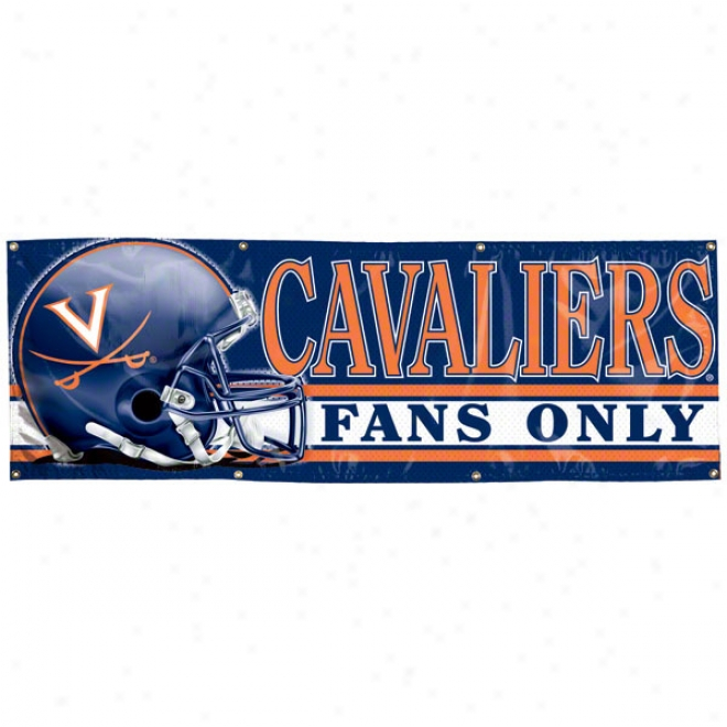 Virginia Cavaliers 26x Vinyl Banner
