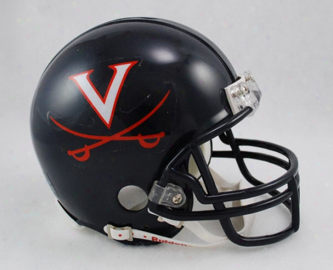 Virginia Cavaliers Riddell Mini Helmet