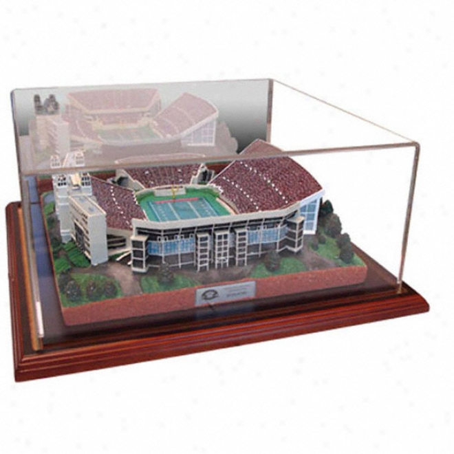 Virginia Tech Hokies Lane Stadium Autograph copy With Case - Platinum Series