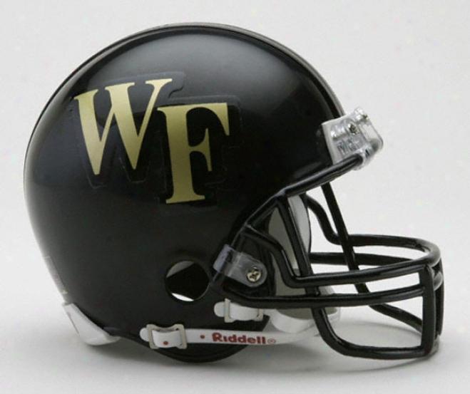 Wake Forest Demon Deacons Rifdell Mini Helmet