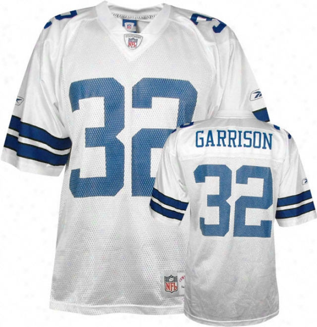 Walt Garrison Reebok Nfl Replica Throwback Dallas Ckwboys Jersey