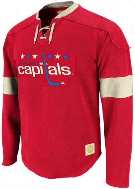 Washington Capitals Red Reebok Rtero Play Jersey