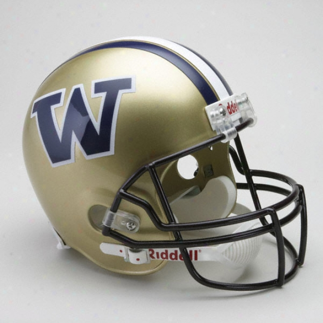 Washington Huskies Deluxe Replica Riddell Helmet