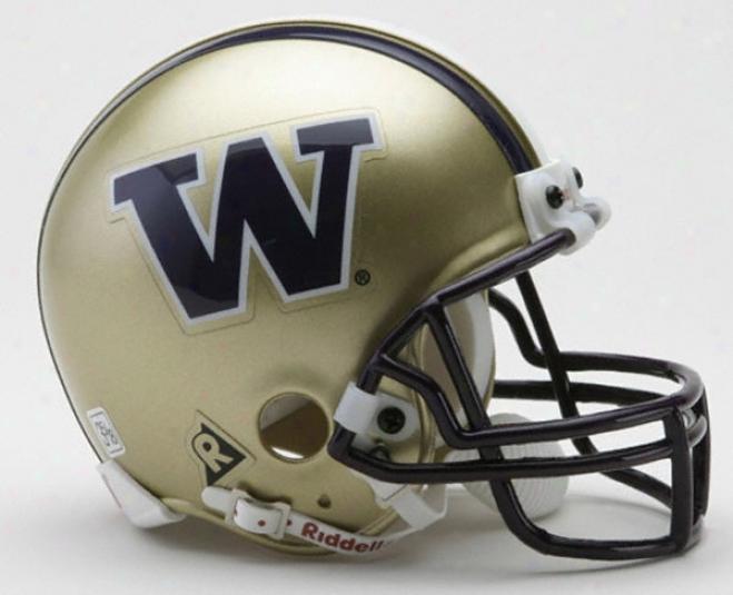 Washington Huskies Riddell Mini Helmet